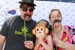 Family photo at the 2012 80/35 Music Festival